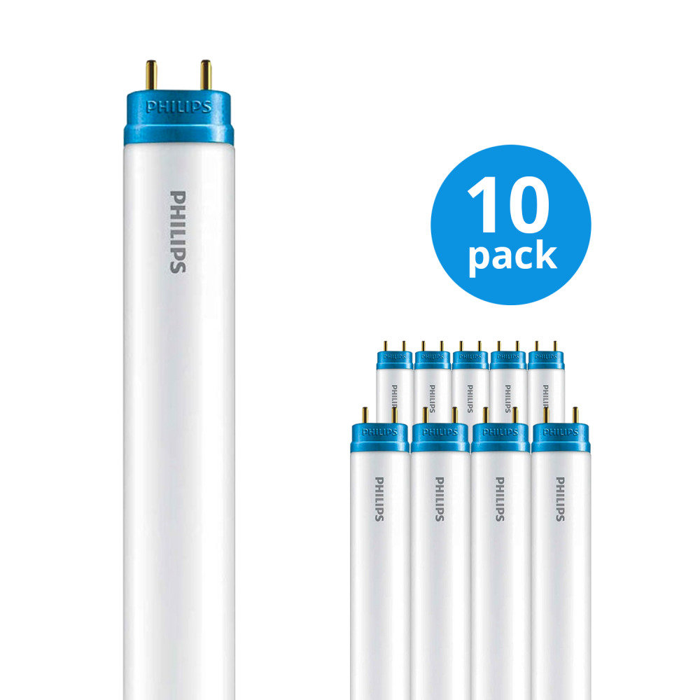 Multipack 10x Philips CorePro LEDtube EM 20W 840 150cm | Koel Wit – incl. LED Starter – Vervangt 58W | Philips | 8718696710920