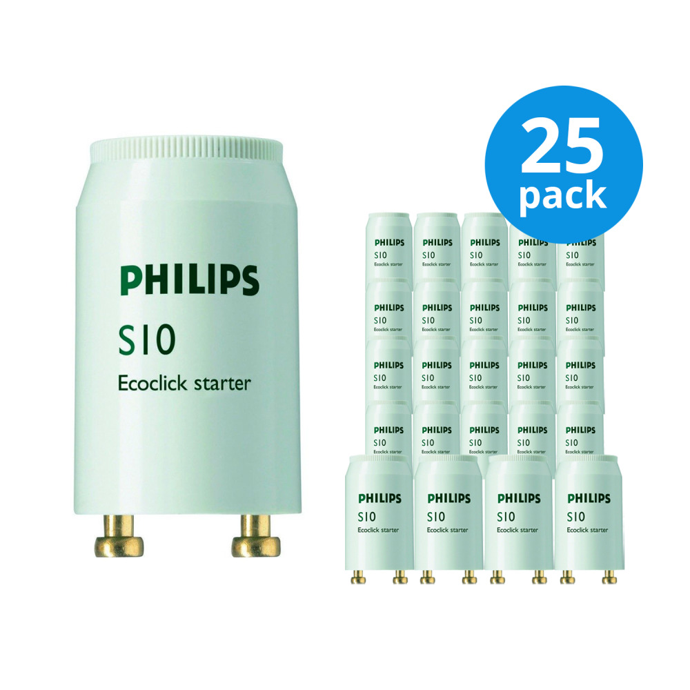 Multipack 25x Philips S10 Starter 4-65W SIN | Philips | 8711500697752