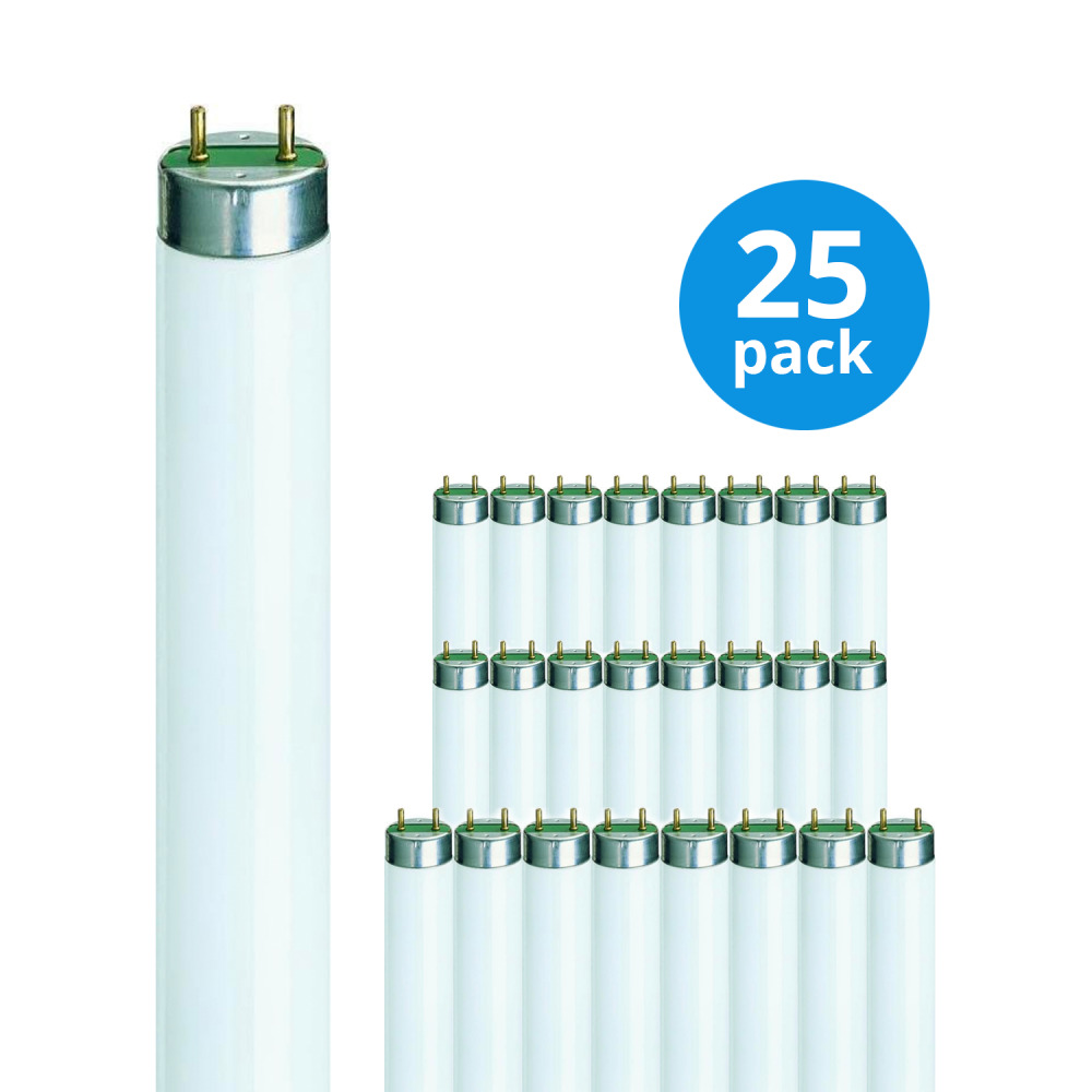 Multipack 25x Philips TL-D 36W 830 Super 80 (MASTER) | 120cm – Warm Wit | Philips | 8711500631961