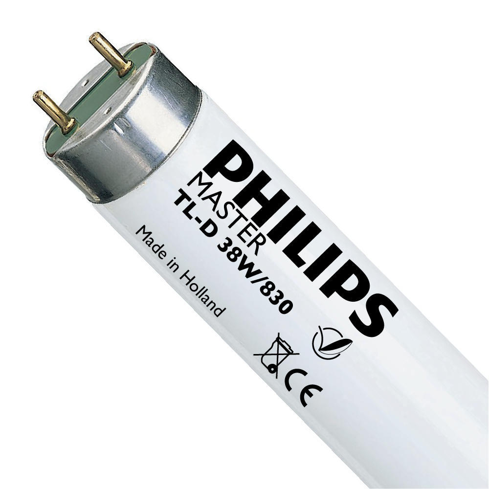 Philips TL-D 38W 830 Super 80 (MASTER)   104.5cm – Warm Wit   Philips   8711500558800