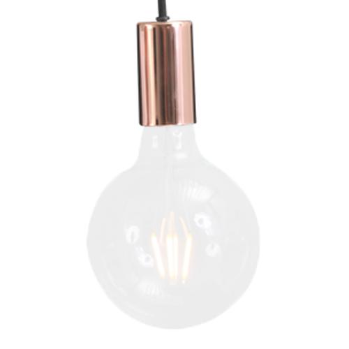 Masterlight Roodkoperen pendellamp Concepto 2237-56 | 8718121142340