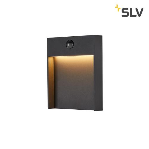 SLV – verlichting Led wandlamp Flatt Sensor met bewegingssensor 1002954   4024163231480