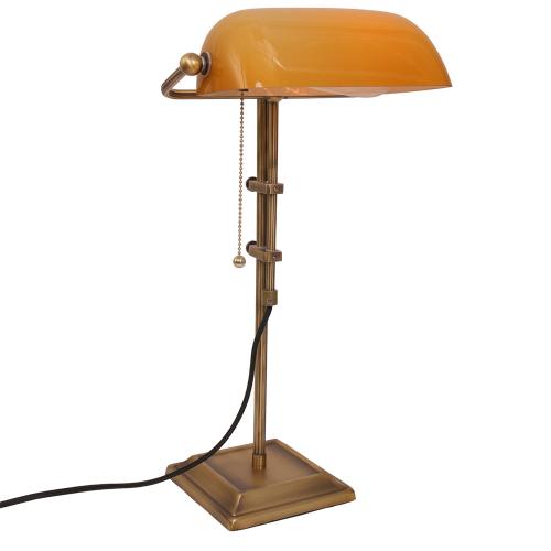 Steinhauer Bankierslamp Ancilla 7735BR | 8712746104417