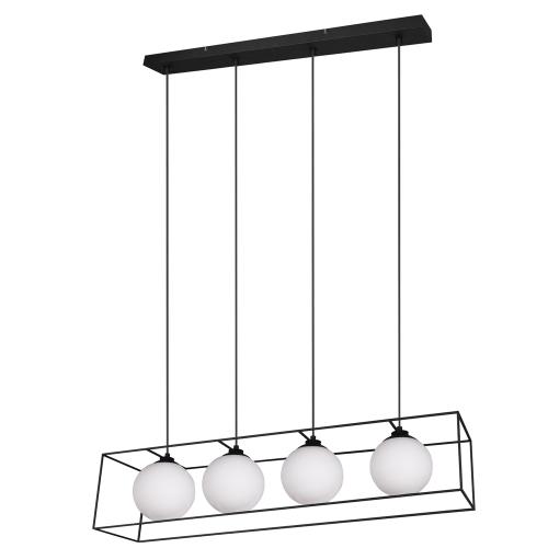 Trio international Design hanglamp Gabbia 4-lichts R30404032 | 4017807412574