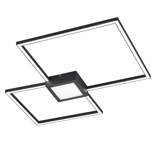 Trio international Vierkante plafondlamp Hydra 676210342 | 4017807425703