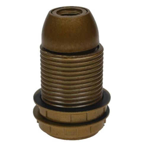 Vtac Fitting E14 – Base goud met 2 ringen 6042262   8717692021658