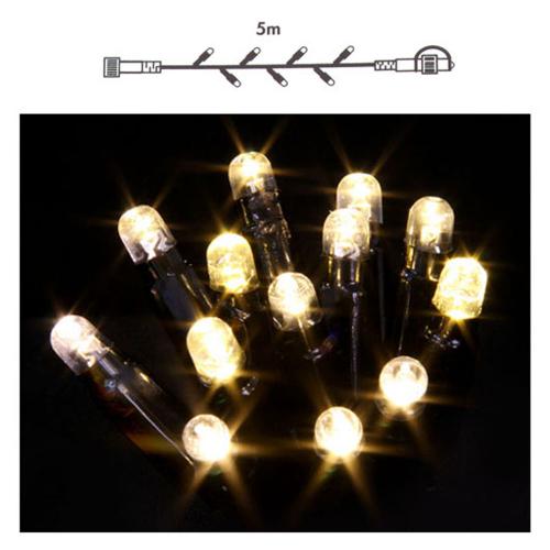 Vtac Luca led string 49 lamps 5 meter 5590100 | 8711473759815