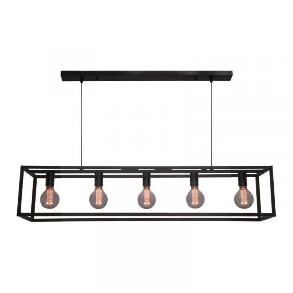 Hanglamp Esteso Mat Zwart 120cm |  | 8720143020575