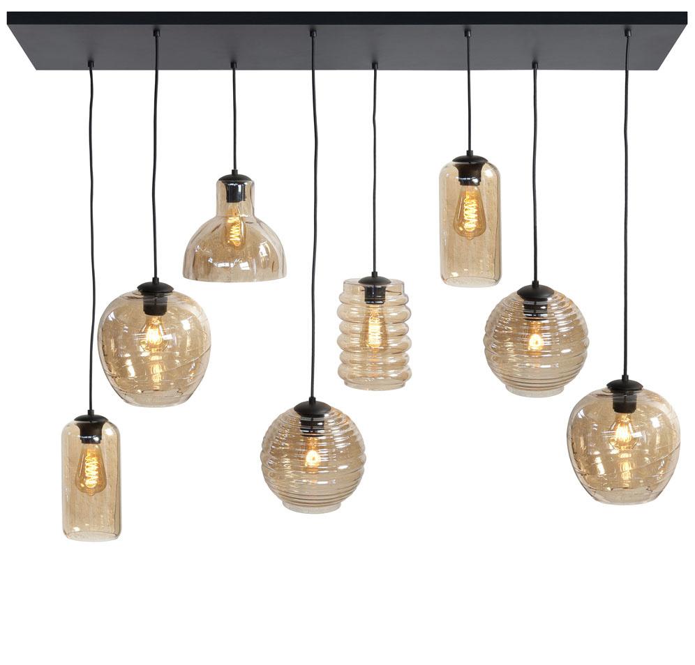 Hanglamp Fantasy Amber 8 Lichts |  | 7061283929924