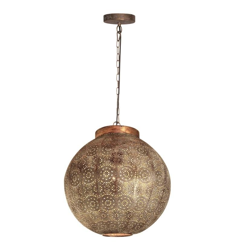 Hanglamp Motivo Antiek Goud & Wit Ø 50cm |  | 7061281568538