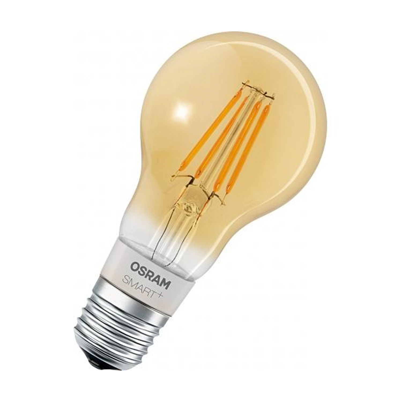 Ledvance Smart+ HomeKit Classic 5.5W 825 A60 E27 Filament Goud | Dimbaar – Zeer Warm Wit – Vervangt 45W | Ledvance | 4058075208582