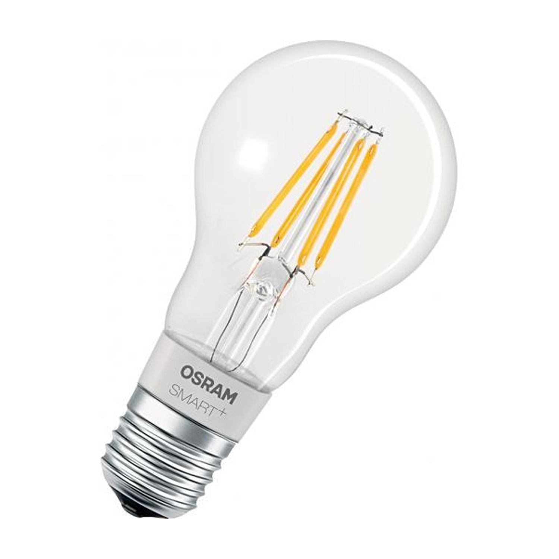 Ledvance Smart+ HomeKit Classic 5.5W 827 A60 E27 Filament | Dimbaar – Zeer Warm Wit – Vervangt 50W | Ledvance | 4058075208551
