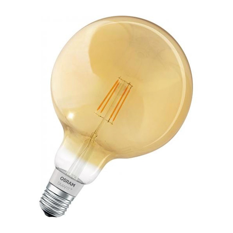 Ledvance Smart+ HomeKit Globe G125 5.5W 825 E27 Goud | Dimbaar – Zeer Warm Wit – Vervangt 45W | Ledvance | 4058075208599