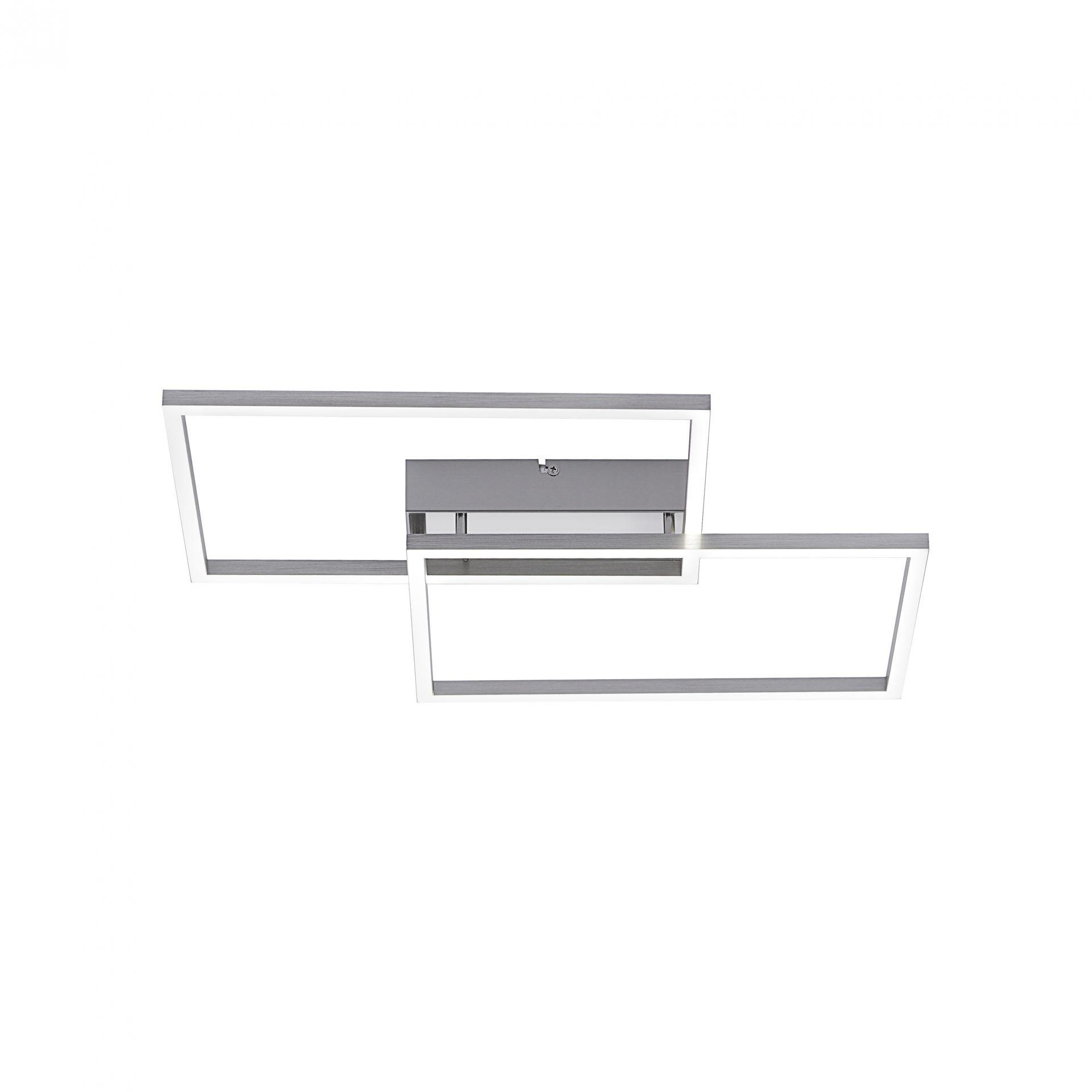 Plafondlamp Iven RVS Led Incl. Afstandbediening |  | 7061286690197