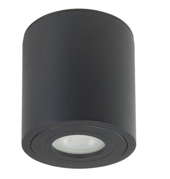 Spot Rebel GU10 Zwart 9.5cm Rond IP44 |  | 8718379037115