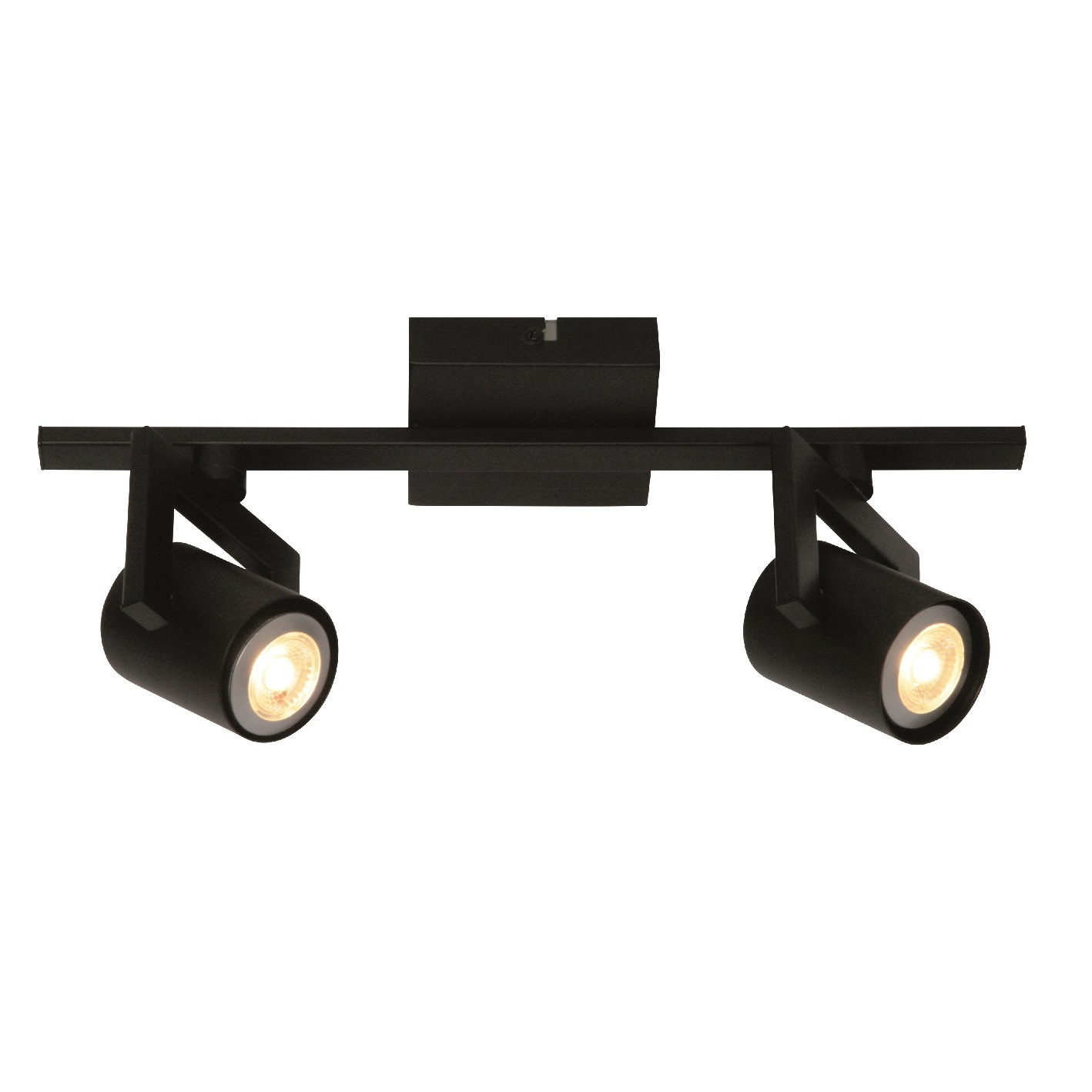 Spot Valvoled LED Zwart 2 Lichts |  | 8718444955337