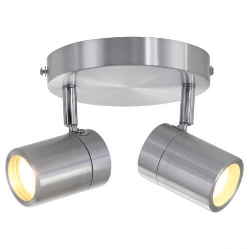 Steinhauer Dubbele badkamerspot Upround LED 2487ST | 8712746130072