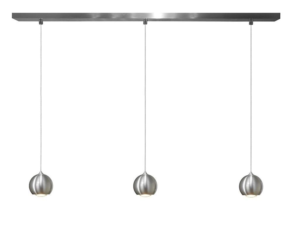 Hanglamp LED Denver Aluminium Ø 10cm 3 Lichts |  | 7061285252600