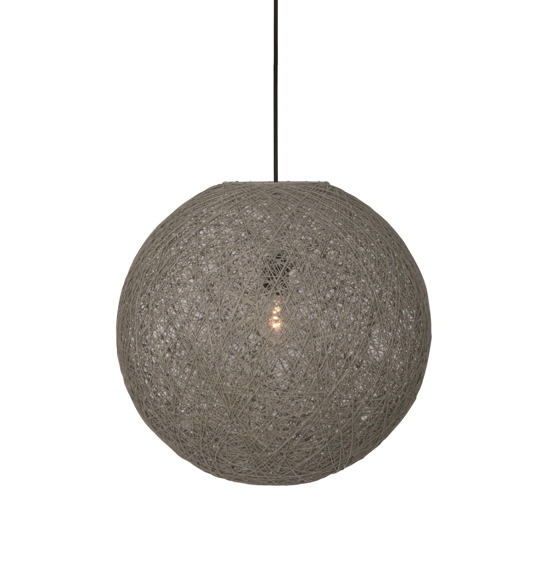 Hanglamp Twisted 60cm Beton Grijs |  | 8718444956815