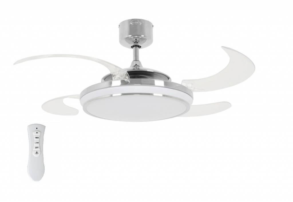 Lucci Plafondventilator Fanaway LED Chroom | Lucci | 9333509114529