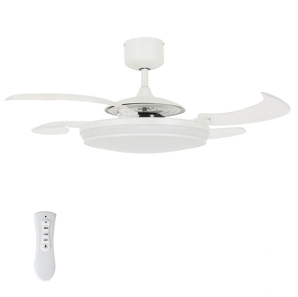 Lucci Plafondventilator Fanaway LED White 121cm   Lucci   9333509114505