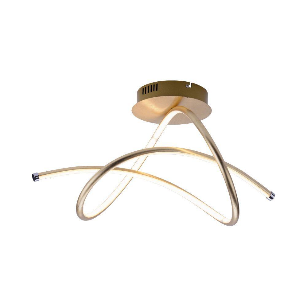 Plafondlamp Violetta Mat Goud Led      4043689954680