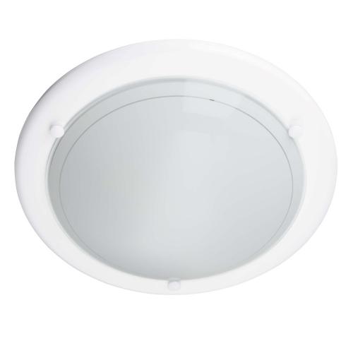 Brilliant Witte plafonnière Miramar Ø 28cm 90191/05 | 4004353605673