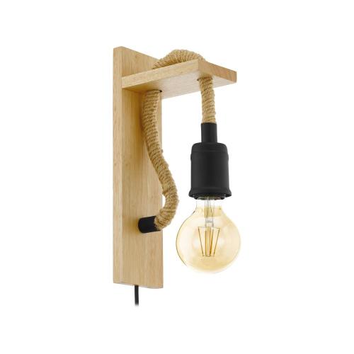 Eglo Landelijke wandlamp Rampside 43197   9002759431976