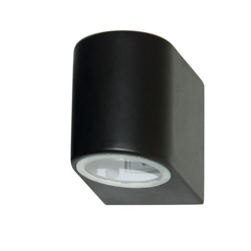 Searchlight Zwarte wandspot Splot 8008-1BK-LED | 5053423076515