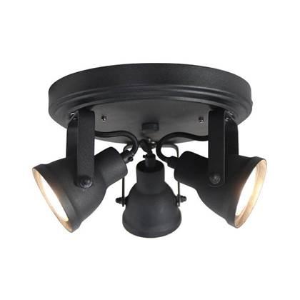 LABEL51 LED Spot Max 3-Light 21 x 21 x 13,5 cm – Zwart | 8719323320819