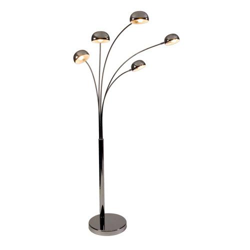 Artdelight 5-lichts vloerlamp Flightshow VL 6543 CH | 8719831732906