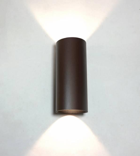 Artdelight Wandlamp Brody Bruin Led IP54 | Artdelight | 8719831730032