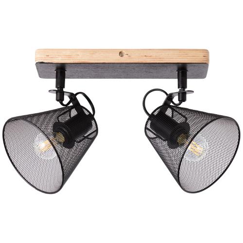 Brilliant Landelijke plafondlamp Whole 40113/76 | 4004353378751