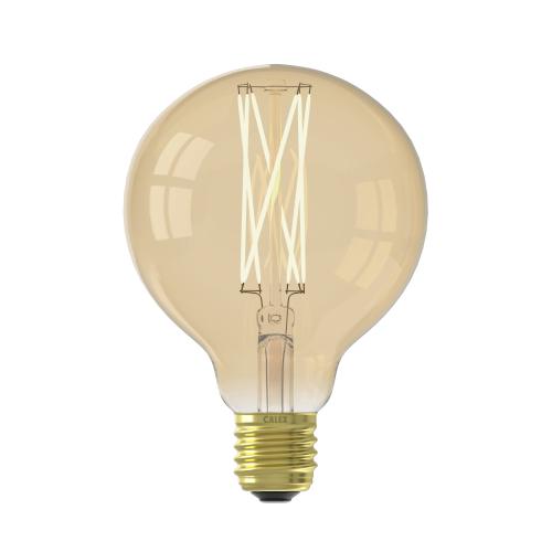 Circle Filament 4W – E27 – GLB95 – Led – Long Filament Gold 425464 | 8712879135739