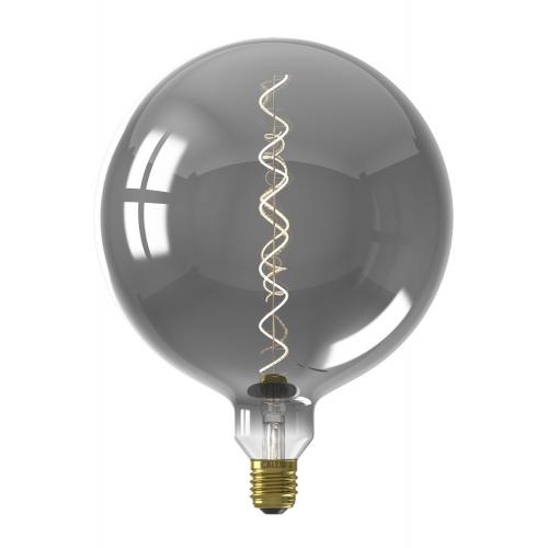 Circle Titanium led lampenbol Kalmar 5W – E27 – 80 lumen – 2100KØ 20cm 426158 | 8712879144212