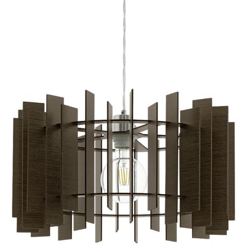 Eglo Donkerbruine hanglamp Treglio 97519 | 9002759975197