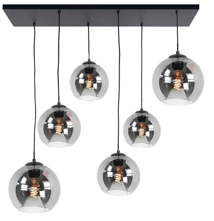 Hanglamp Balloon Smoke 6 Lichts |  | 7061282424543