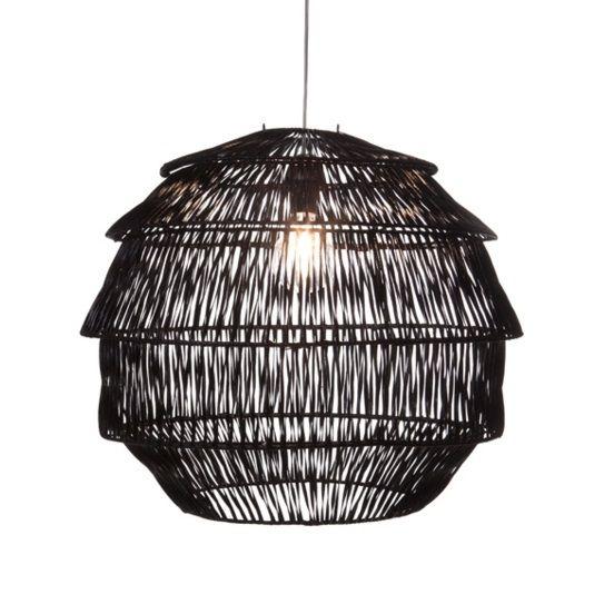 Hanglamp Rotan Artichoke Zwart Ø 60 cm |  | 7109619734733