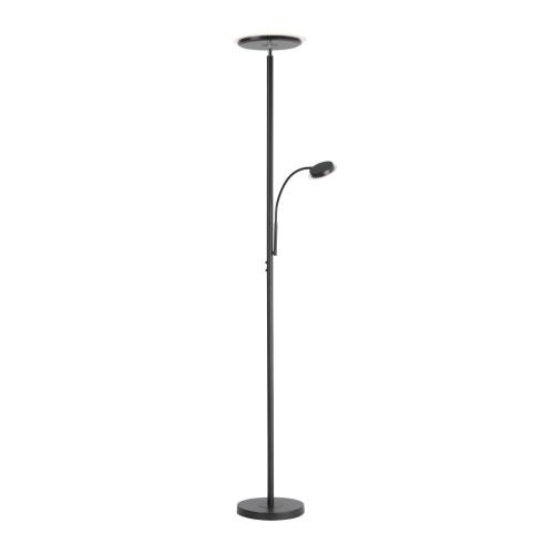 LeuchtenDirekt Zwarte leeslamp Hans 11709-18   4043689972998