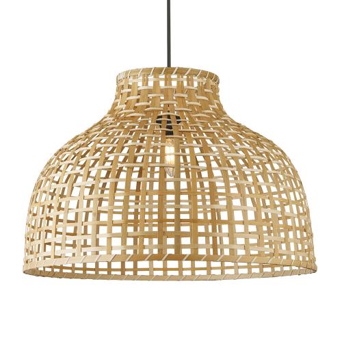 Searchlight Bamboe hanglamp DrumØ 52cm 7396CW | 5053423173993
