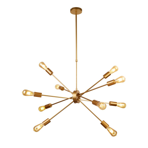 Searchlight Gouden hanglamp Alpha Spider 29010-10GO | 5053423134413