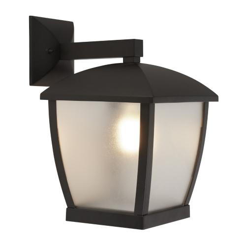Searchlight Strakke wandlamp Seattle 6593BK   5053423167381