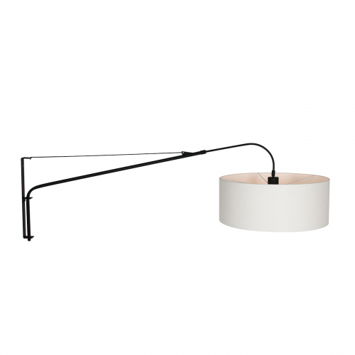Steinhauer Wand leeslamp Gramineus met kap 9323ZW | 8712746132403