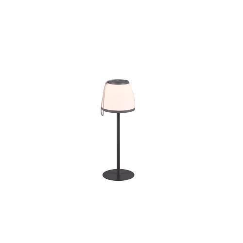 Trio international Oplaadbare tafellamp Domingo R52096142   4017807467031