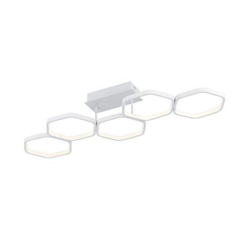 Trio international Zeskantige plafondlamp Vigo R62055131   4017807449860