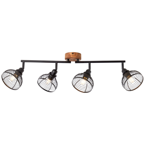 Brilliant 4-lichts plafondlamp Avia 47731/76 | 4004353378881