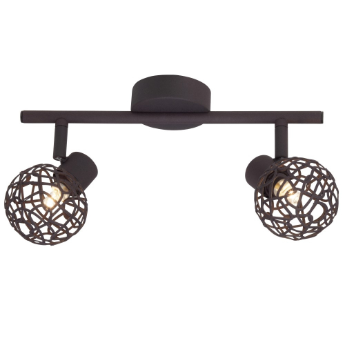 Brilliant Bruine plafondlamp Virgo 02213/20 | 4004353228650