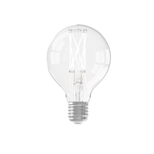 Circle Filament 4W – E27 – GLB80 – Led – Long Filament Clear 425450 | 8712879136316