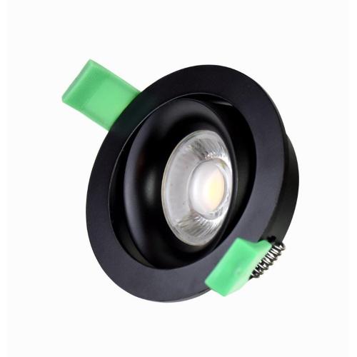 ETH Zwarte inbouwspot Spowel 05-1190-30 | 8720195300212