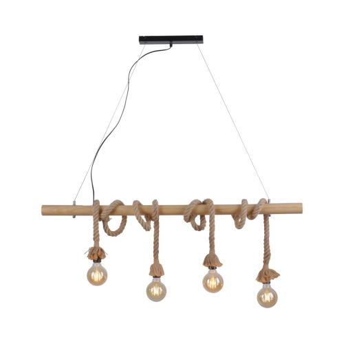 LeuchtenDirekt Eetkamer touwlamp Rope 15483-18 | 4043689963132